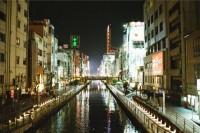 [19698] 大阪的繁华夜色
