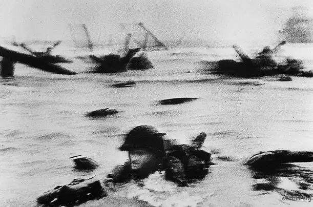 Omaha Beach, D-Day 1944 by Robert Capa