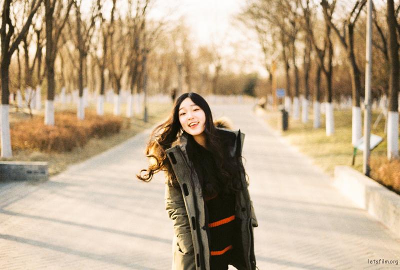 少女与北京的冬天