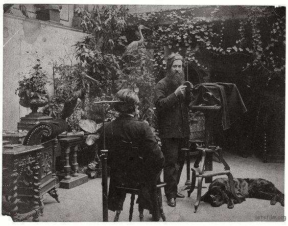 1870年代法国的一家照相馆