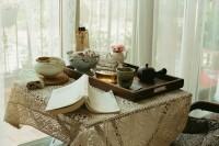 [20512] 下午茶与花