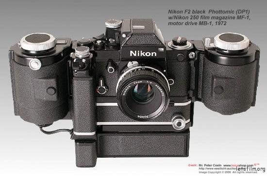 Nikon F2 body with Photomic DP