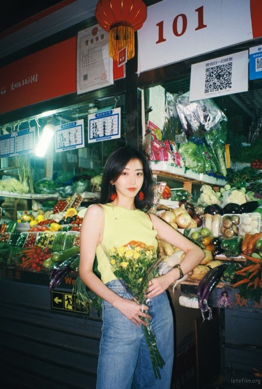 [20794] 六月的第一天,在菜市场躲过一场雨   胶片的味道