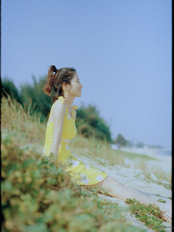 [21396] 头纱 胶片 夏天 还有你 | 胶片的味道