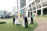 [21446] 好朋友们一起拍结婚照吧